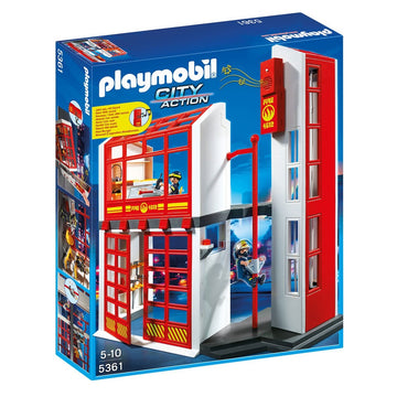 Playmobil - 5361 Fire Station with Alarm