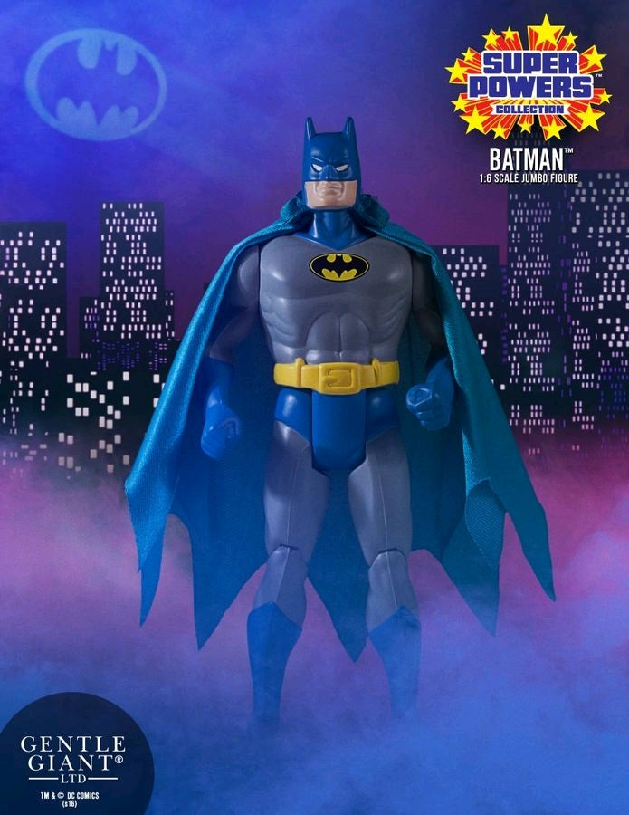 "Batman - Super Powers 1:6 Scale 12"" Jumbo Kenner Action Figure"
