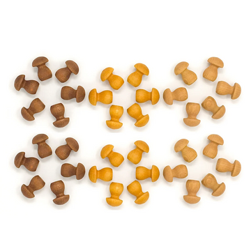 Grapat Mandala Little Mushroom - Wooden Toys