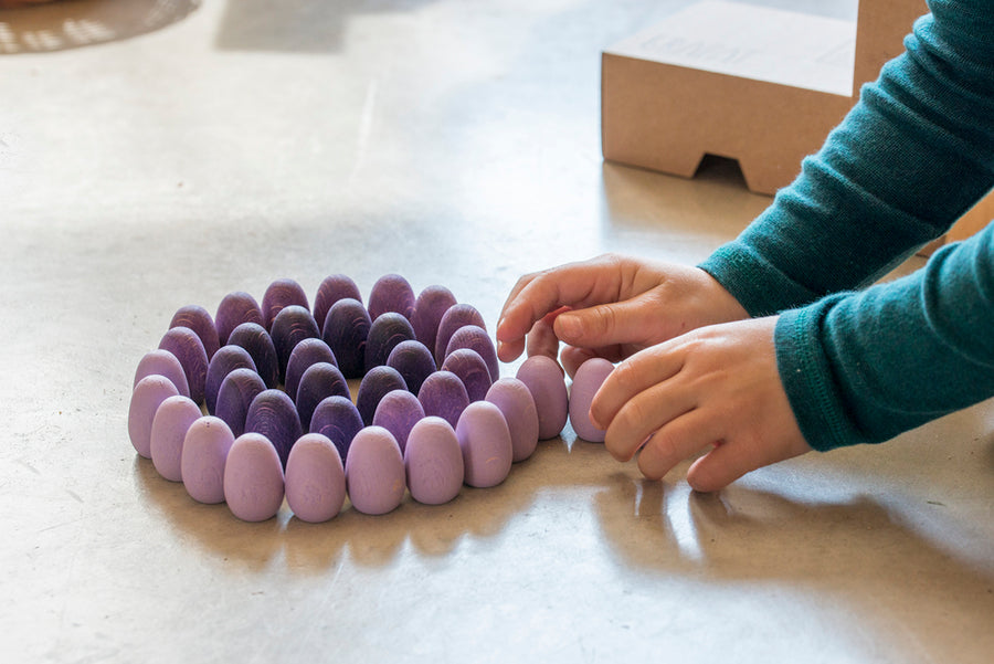 Grapat Mandala Eggs - Wooden Toys