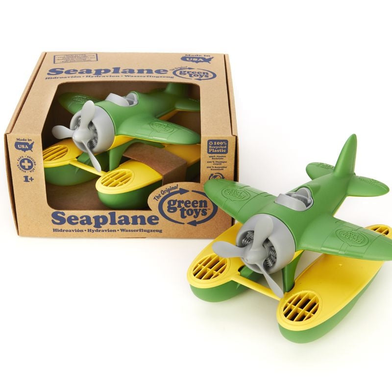 Green Toys - Seaplane (Recycled Plastic) Made in USA