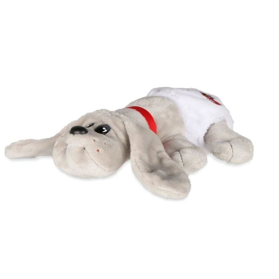 Pound Puppies™ Newborns 80s Classic Collection - Grey Puppy with Long Ears