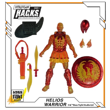 VITRUVIAN H.A.C.K.S. - Series 1 - Helios Warrior (Army of the Sun)