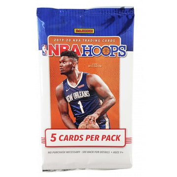 PANINI 2019-20 Hoops Basketball Cards (5 per pack)