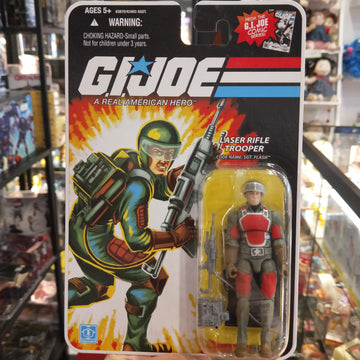 GI Joe 25th Anniversary - Laser Rifle Trooper
