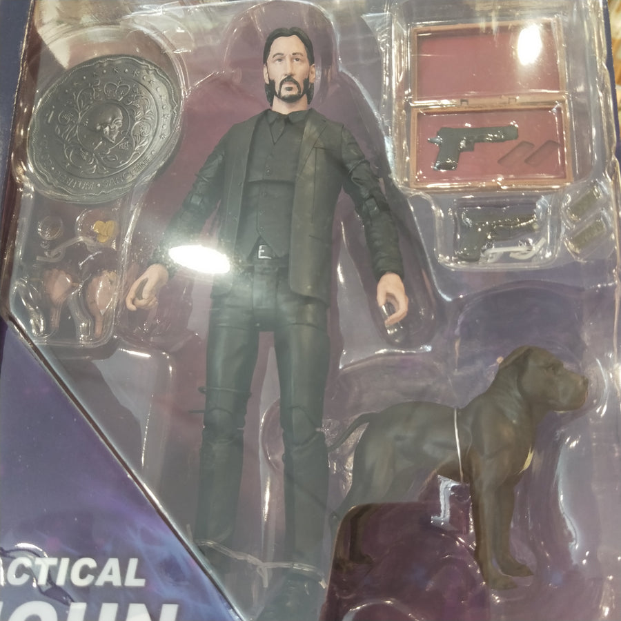 Marvel Select - John Wick Chapter 2 w/ Dog 7