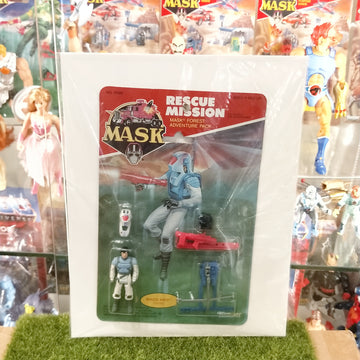 M.A.S.K - Rescue Mission MASK Forest Adventure Pack (1985)