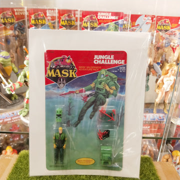 M.A.S.K - Jungle Challenge MASK Wilderness Adventure Pack (1985)