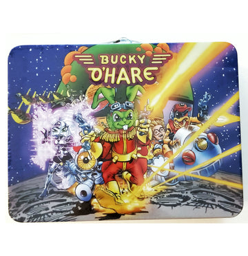 Bucky O'Hare - Exclusive Corsair Canard Deadeye Duck Action Figure in Lunch Box
