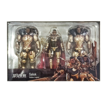 Joy Toy - 1:18 Scale Saluk - Golden Legion Action Figures - Set of 3