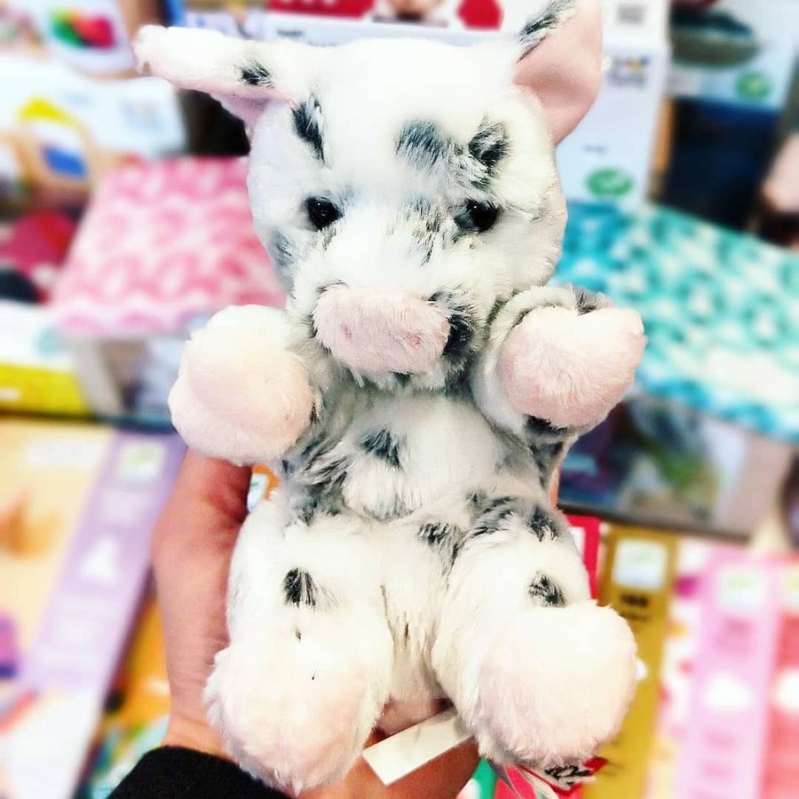 Lil' Handful Spotted Piglet Pig Plush 18cm