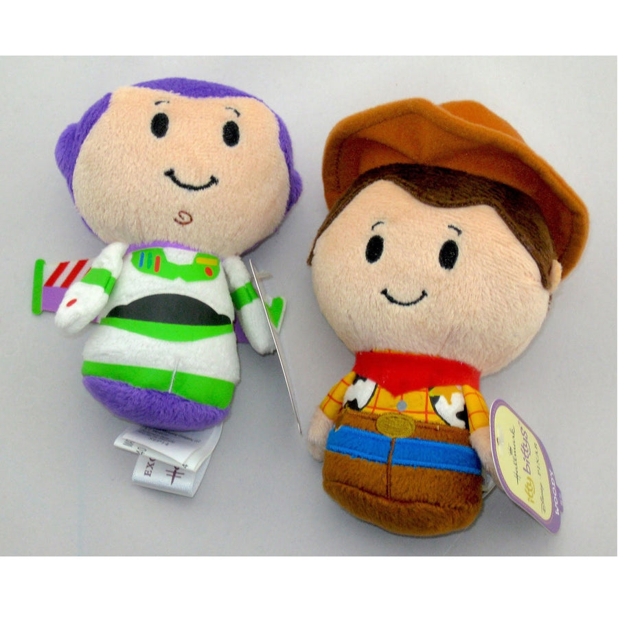 Itty Bitty Toy Story WOODY and BUZZ LIGHTYEAR