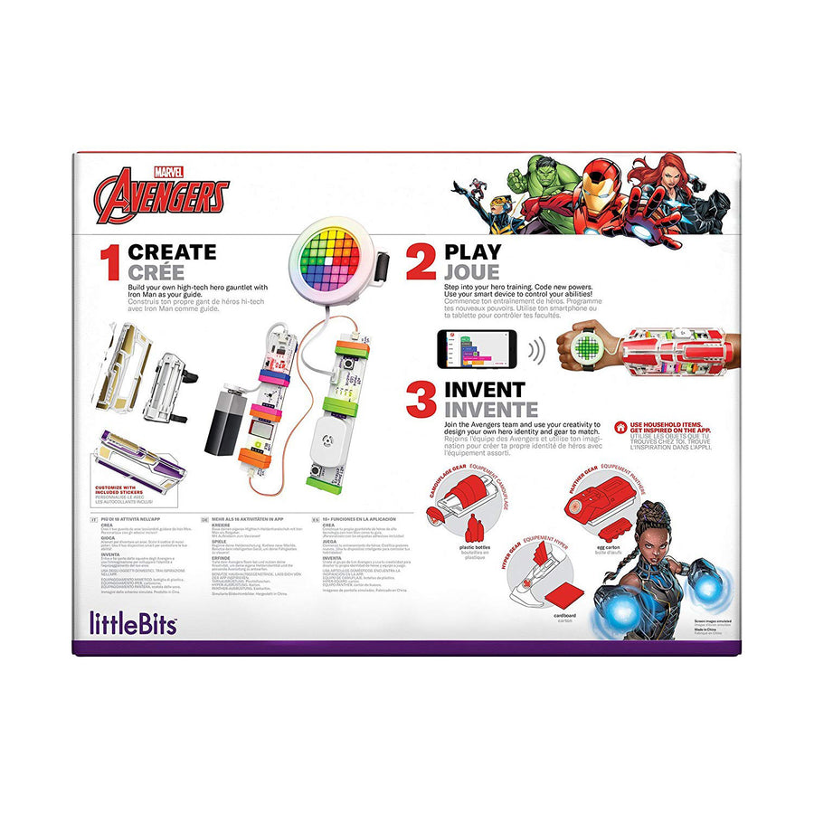 littleBits Avenger Hero Inventor Kit