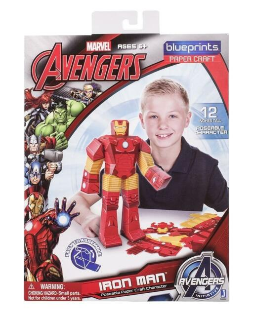 Marvel Avengers Paper Craft Characters