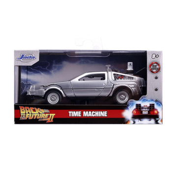 Jada Toys Back to the Future 2 - Delorean 1:32 Scale Diecast Model Car
