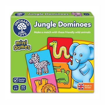 Orchard Toys - Jungle Dominoes Mini Game 3-5yo