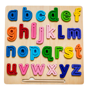 Kiddie Connect - ABC (Lowercase) Chunky and Tracing Puzzle