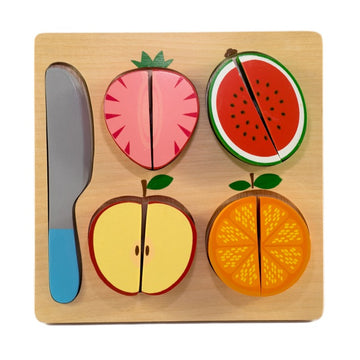 Kiddie Connect - Slice the Fruit Puzzle