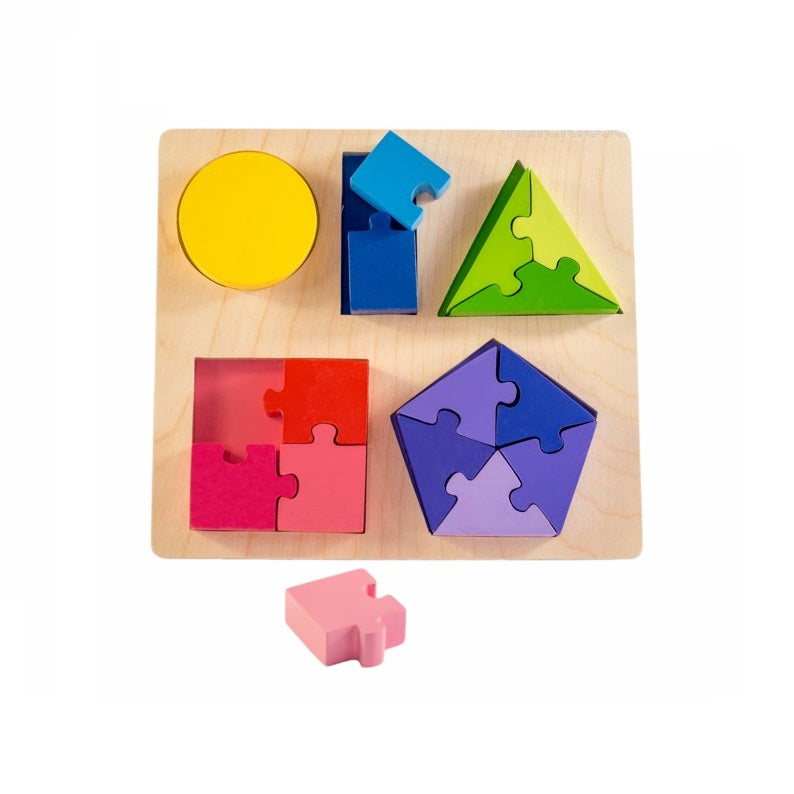 Kiddie Connect -  Jigsaw Shape Fraction Puzzle