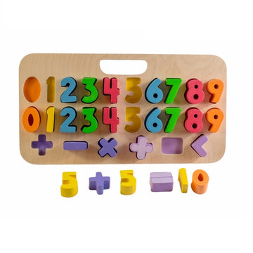 Kiddie Connect -  Numbers with Carry Case Puzzle