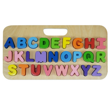 Kiddie Connect - Uppercase Alphabet Carry Case Puzzle