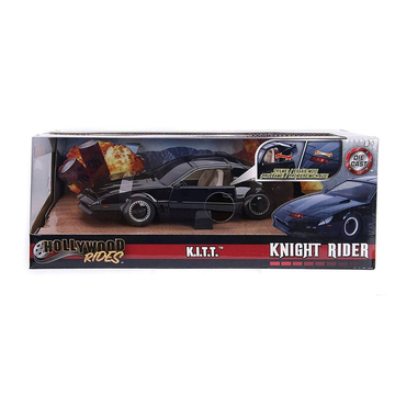 Jada Toys Knight Rider K.I.T.T 1982 Pontiac Firebird 1:24 Scale Diecast Model Car