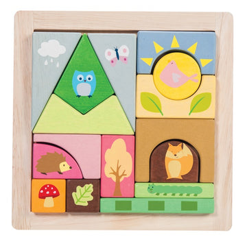 Le Toy Van - Petilou Woodland Blocks Tray