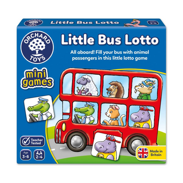 Orchard Toys - Little Bus Lotto Mini Game 3-6yo