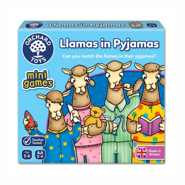 Orchard Toys - Llamas in Pyjamas Mini Game 3-6yo
