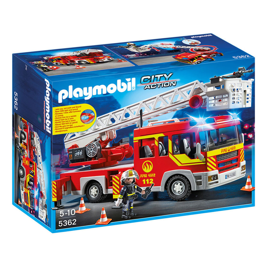 Playmobil - Fire Unit w/ Lights & Sound