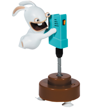 Rabbids - Sound & Action Figure - The Driller