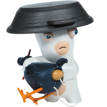 Rabbids - Sound & Action Figure - Chicken Surprise