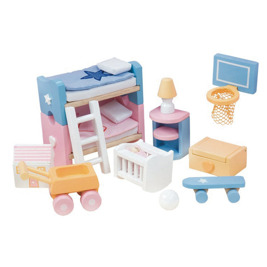 Le Toy Van Sugar Plum Children's Room Wooden Furniture Set