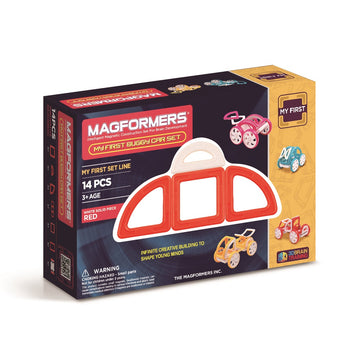 Magformers My First Buggy Car Set (Red)