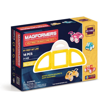 Magformers My First Buggy Car Set (Yellow)