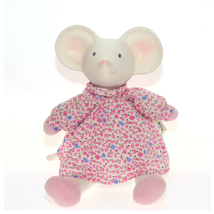 Meiya & Alvin - Meiya Floral Dress Soft Toy with Chewable head