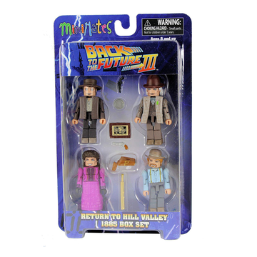 Minimates Back to the Future Part 3 - Return to Hill Valley 1885 Box Set