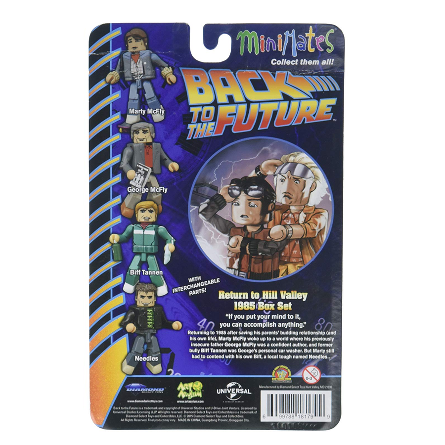 Minimates Back to the Future - Return to Hill Valley 1985 Box Set