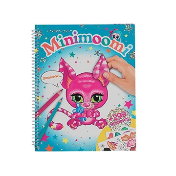 Create your own Minimoomi Colouring and Sticker Book
