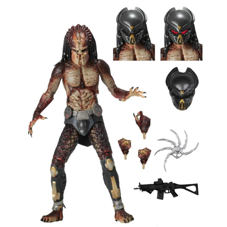 NECA Predator - Lab Escape Fugitive Predator