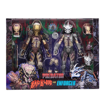NECA Predator - Ultimate Bad Blood & Enforcer 7