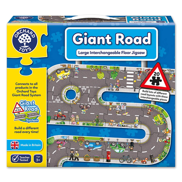 Orchard Toys - Giant Road Play Puzzle 20pcs