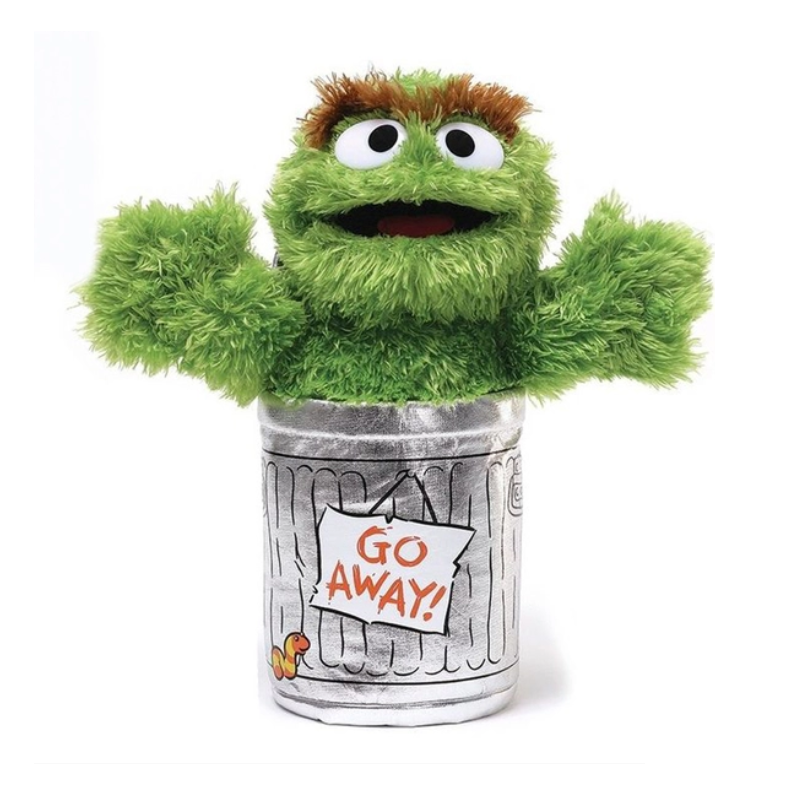 Sesame Street - Oscar the Grouch Soft Toy