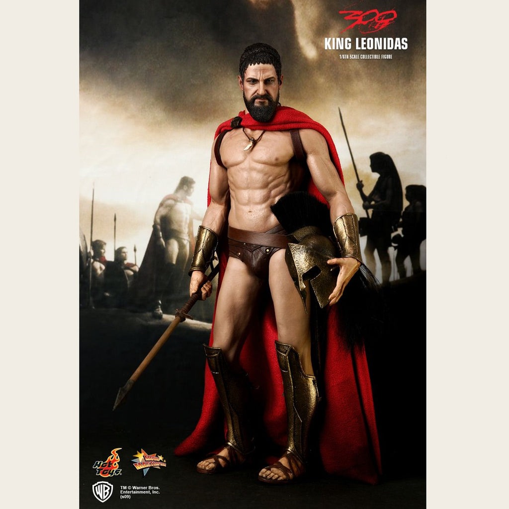 Hot Toys - 300 - King Leonidas 1:6 Scale Action Figure (INSTORE ONLY)