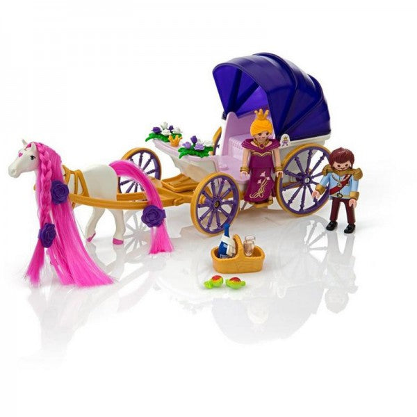 Playmobil - Royal Couple with Carriage Play Set
