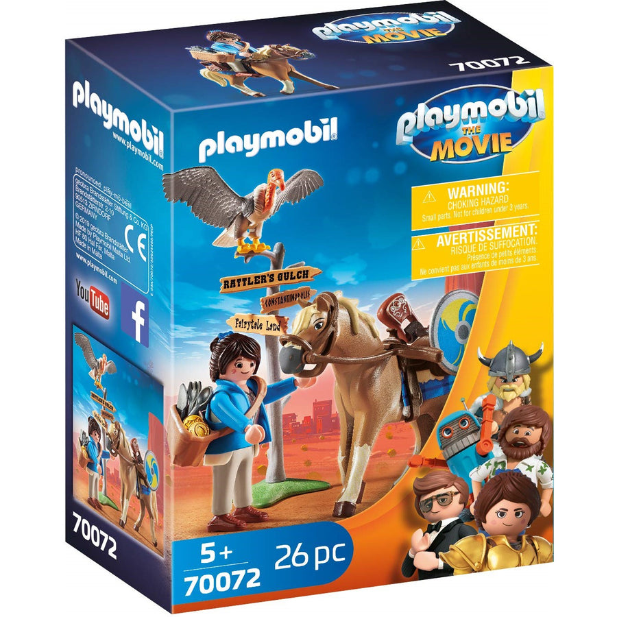 Playmobil Movie - 70072 Marla with Horse