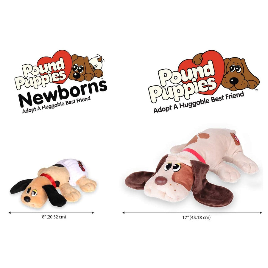 Pound Puppies™ 80s Classic Collection - Red Brown with Black Spots Puppy