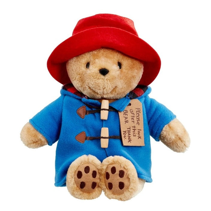 Paddington Bear Sitting - Medium Soft Toy