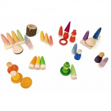 Grapat Palos Set (18) - Wooden Toys