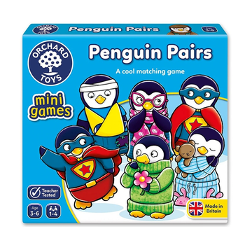 Orchard Toys - Penguin Pairs Mini Game 3-6yo